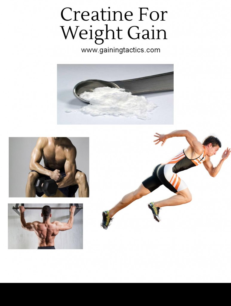 How To Use Creatine for Weight Gain