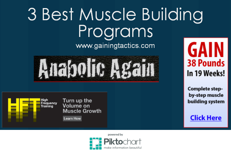 3 Best Muscle Building Program 2016