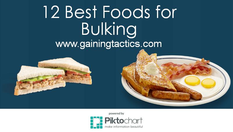 12 Best Foods for Bulking