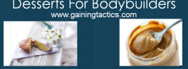 deserts for bodybuilders