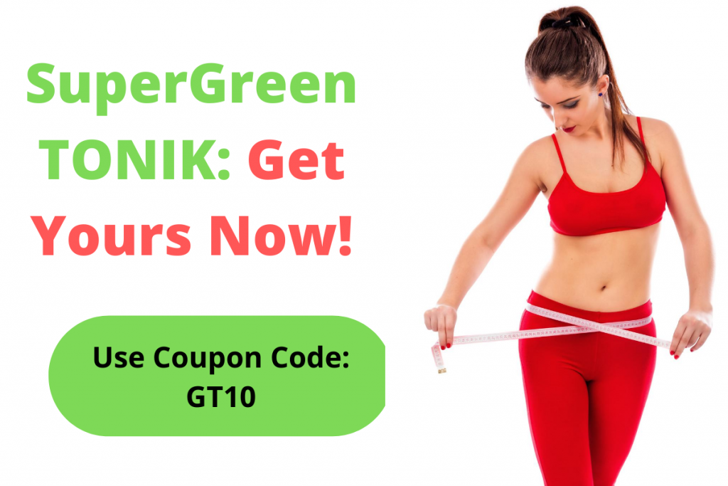 SuperGreen Tonik Discount