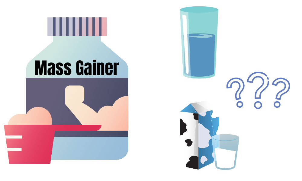how to mix weight gainer