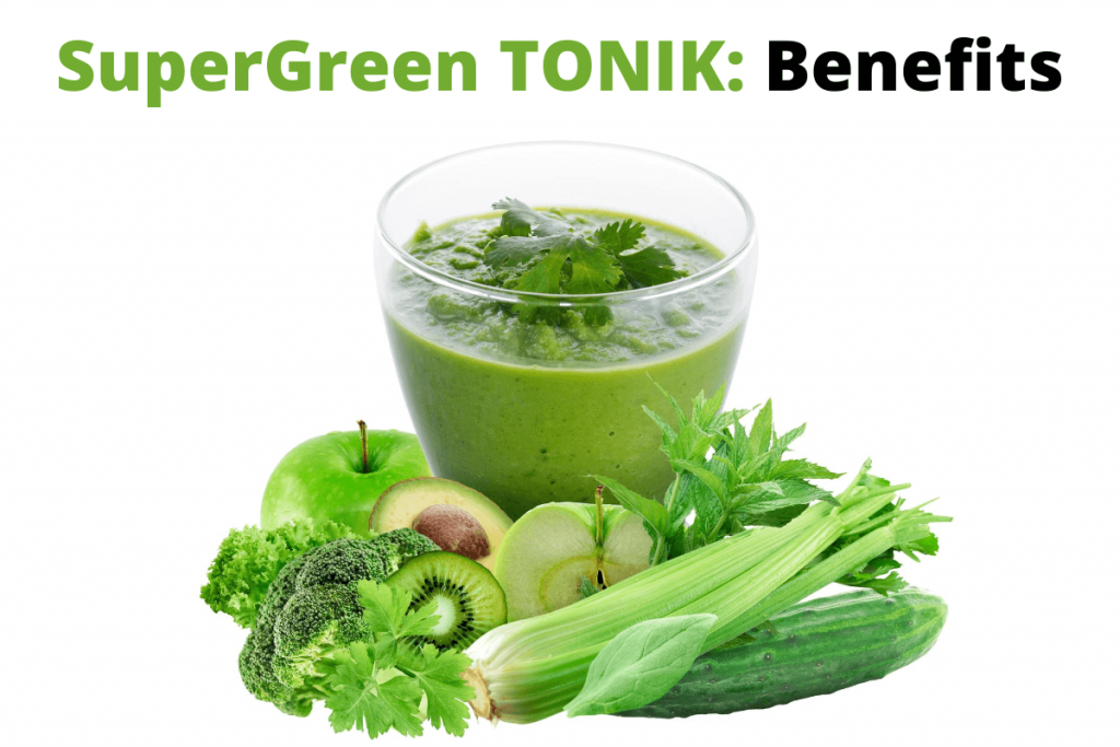 supergreen tonik benefits