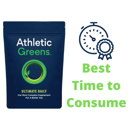 Best Time to Take Athletic Greens