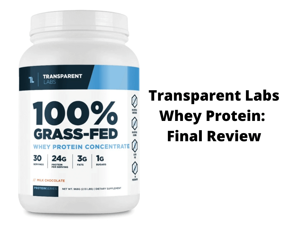 Transparent Labs Protein Isolate