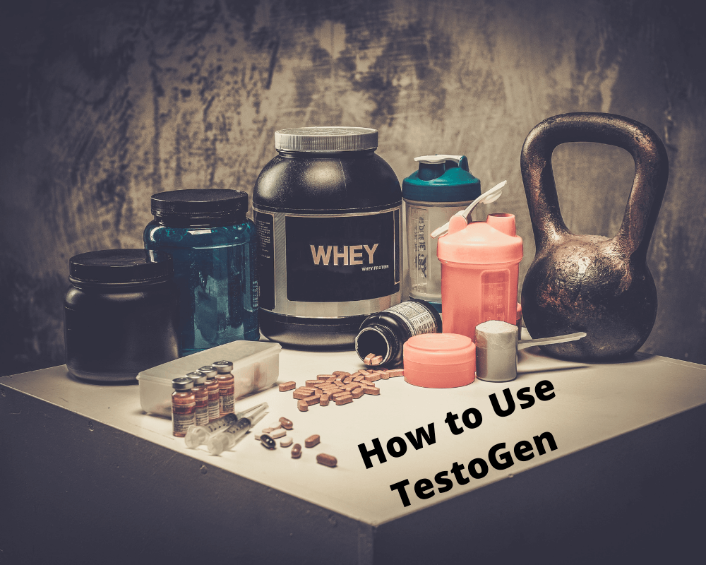 how to take testogen