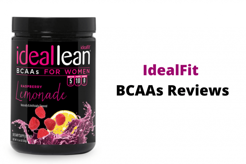 idealfit bcaa reviews