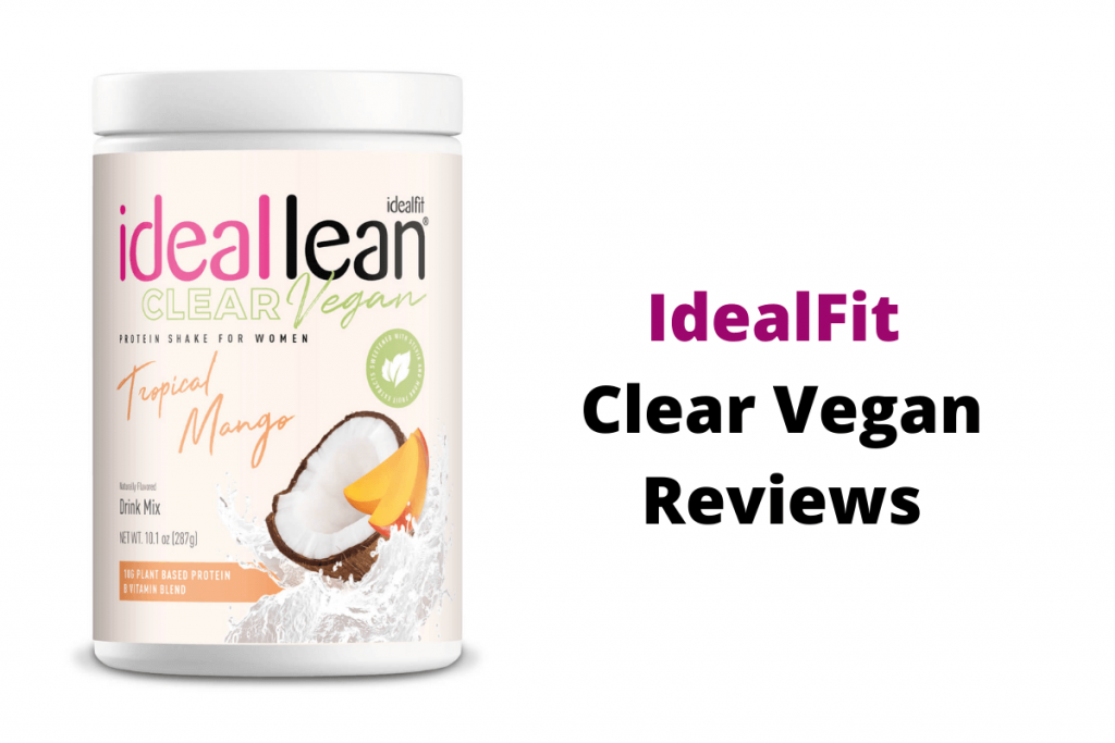 idealfit vegan reviews