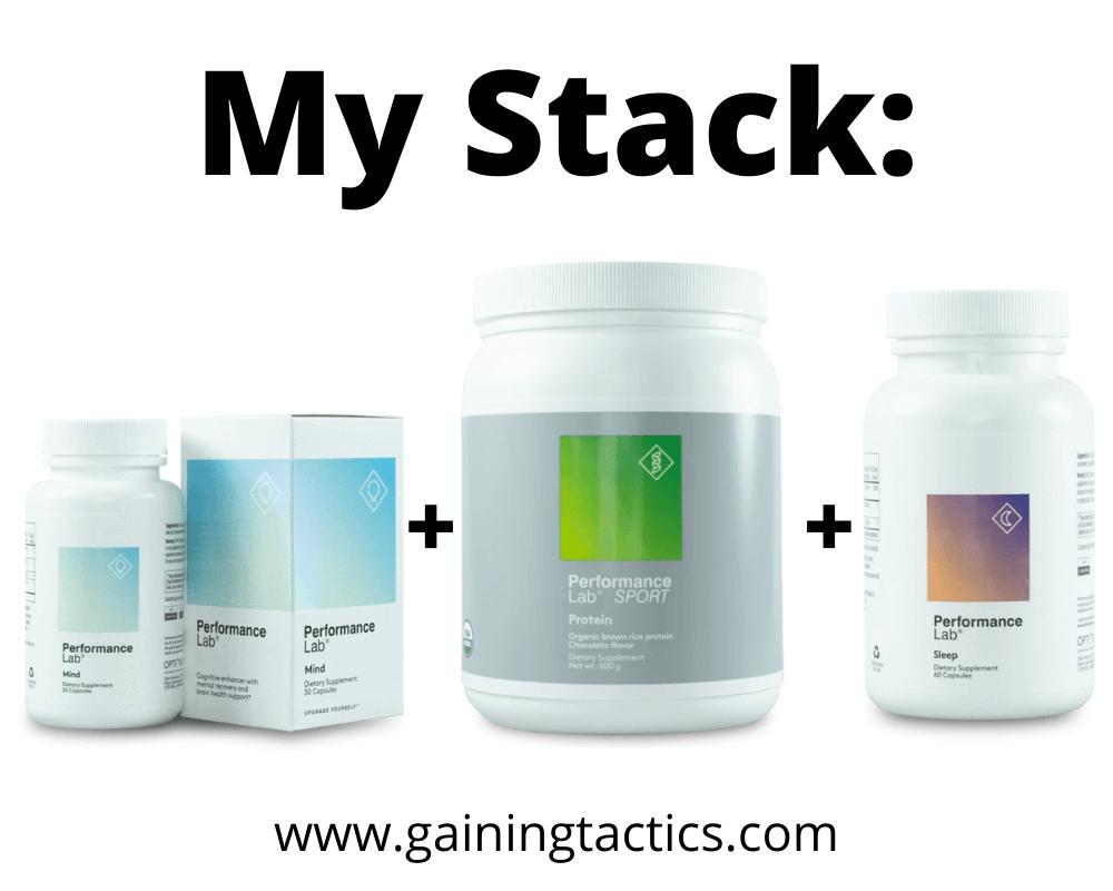 performance lab stack