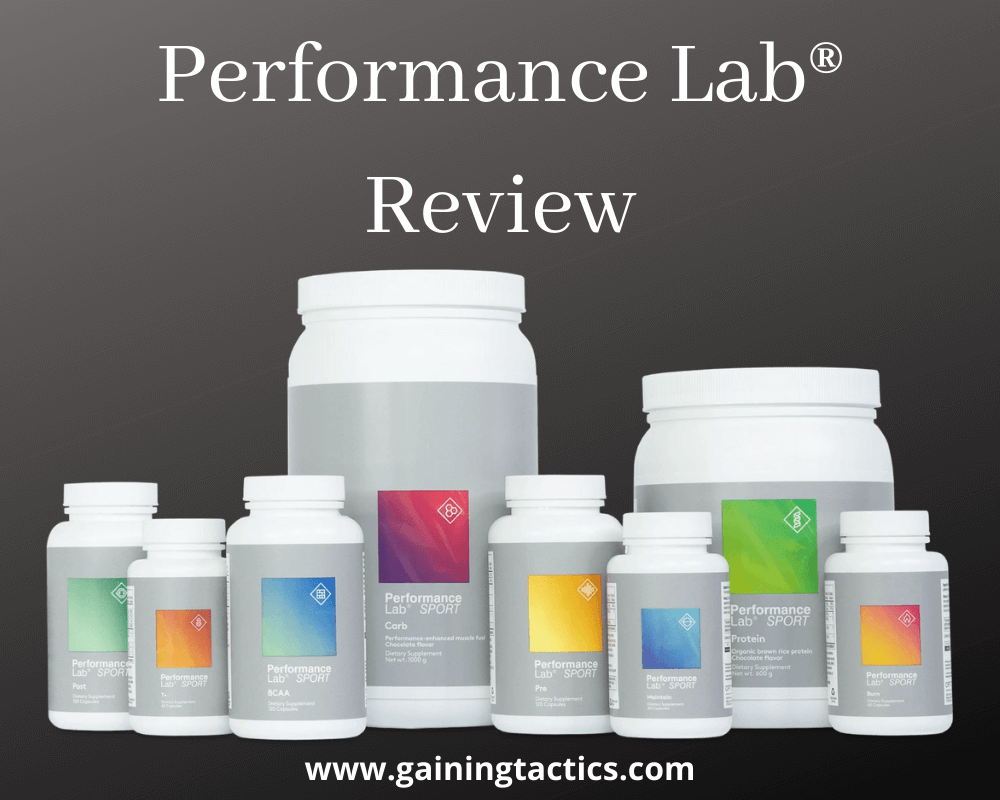 Performance Lab Review in 2021 - Gaining Tactics