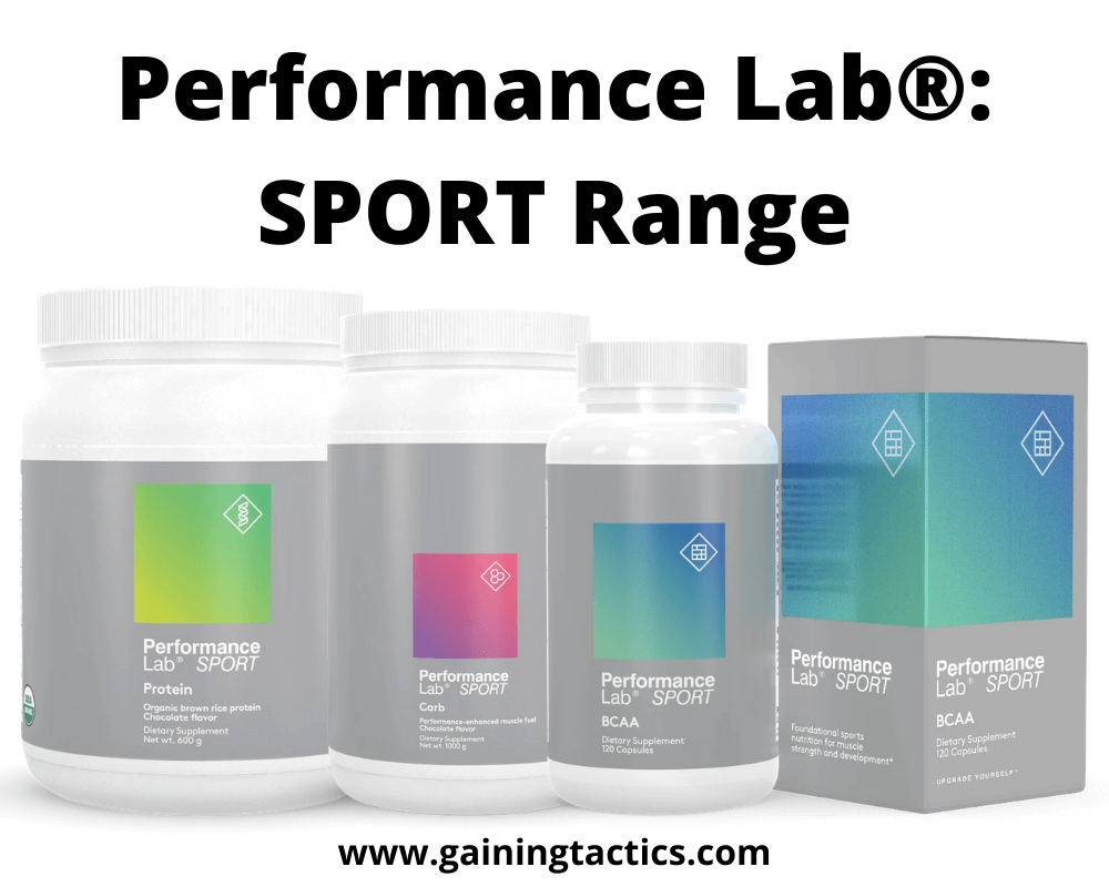performance lab supplements