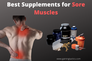 supplements for sore muscles