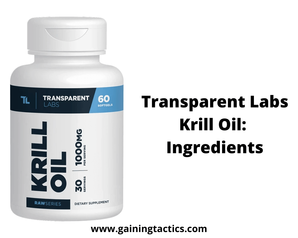 transparent labs krill oil review