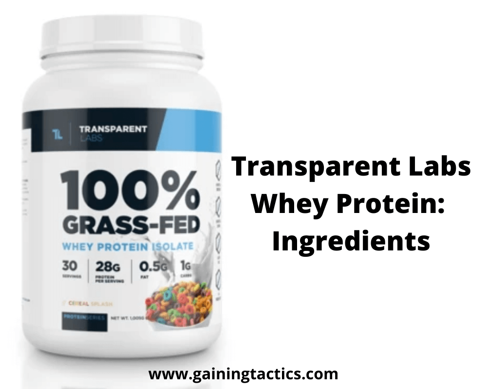 transparent labs protein review