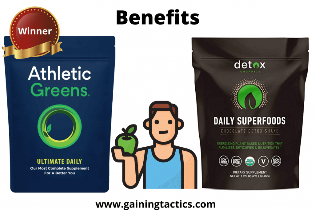 detox organics and athletic greens