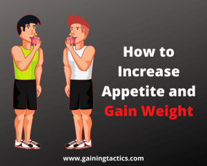 how to increase appetite