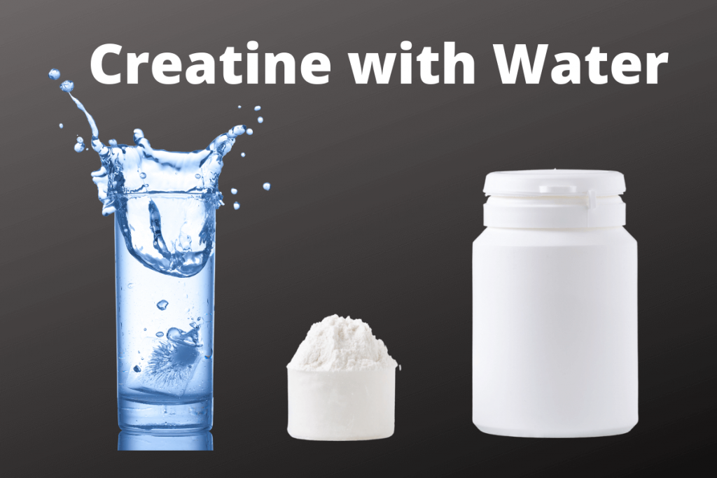 how to take creatine monohydrate with water