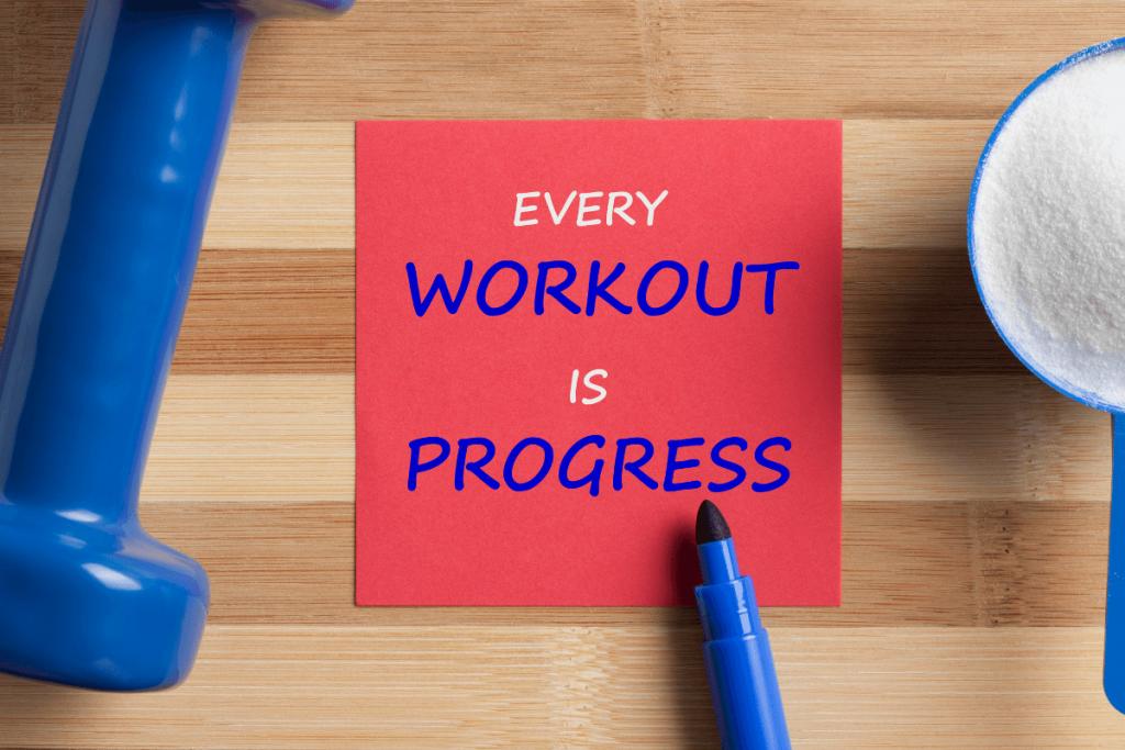 workout progress