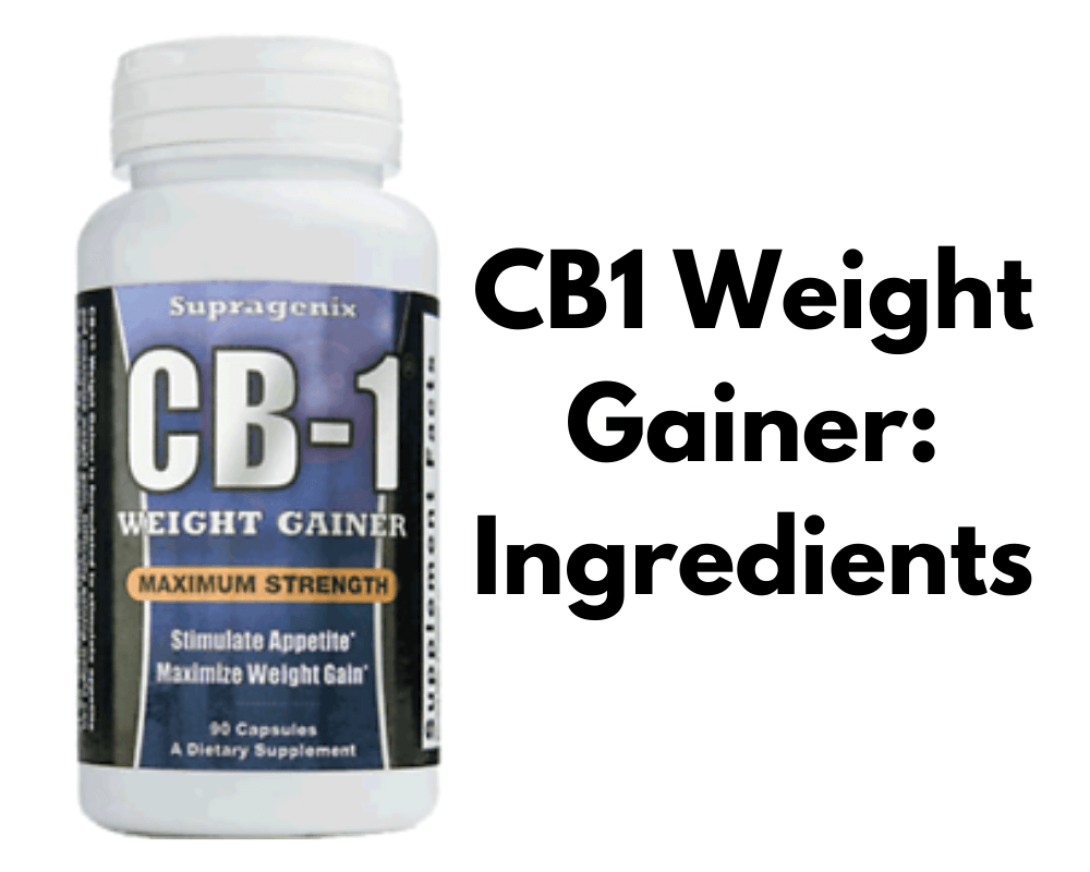 cb 1 weight gainer ingredients