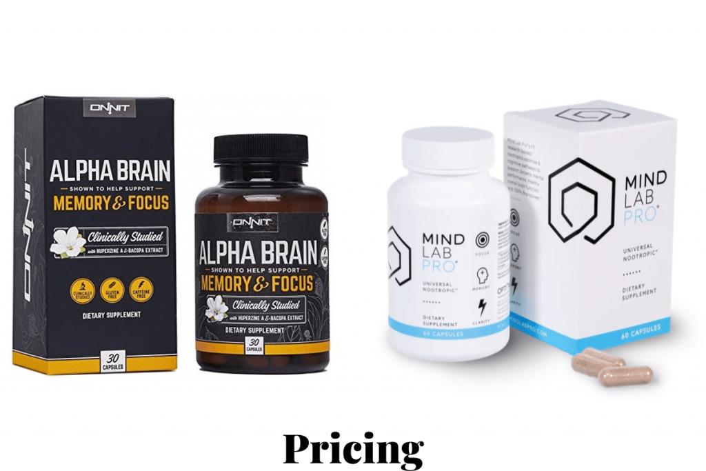 mind lab pro or alpha brain