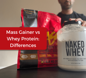 mass gainer vs whey protein